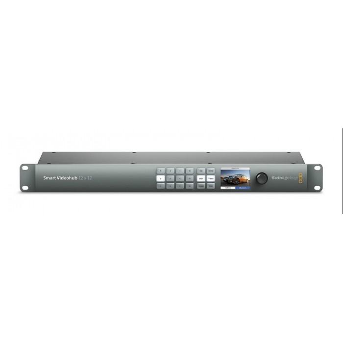 Матричный коммутатор Smart Videohub 12 x 12 6G-SDI (Ultra HD, HD и SD)