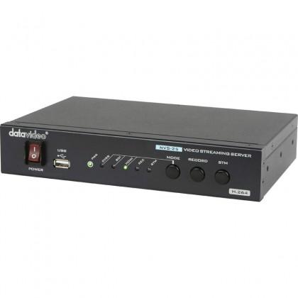 H.264 Видео Потоковый Кодер/Сервер с возможностью Записи Видео