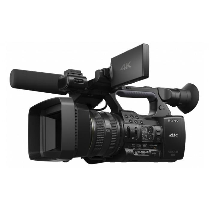SONY PXW-Z100 - профессиональной ручной камкордер с поддержкой разрешения 4K для съемки в формате XAVC на твердотельные карты памяти XQD