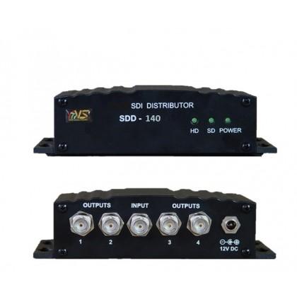 Усилитель распределитель сигналов SD SDI 1 в 4 SDD-140