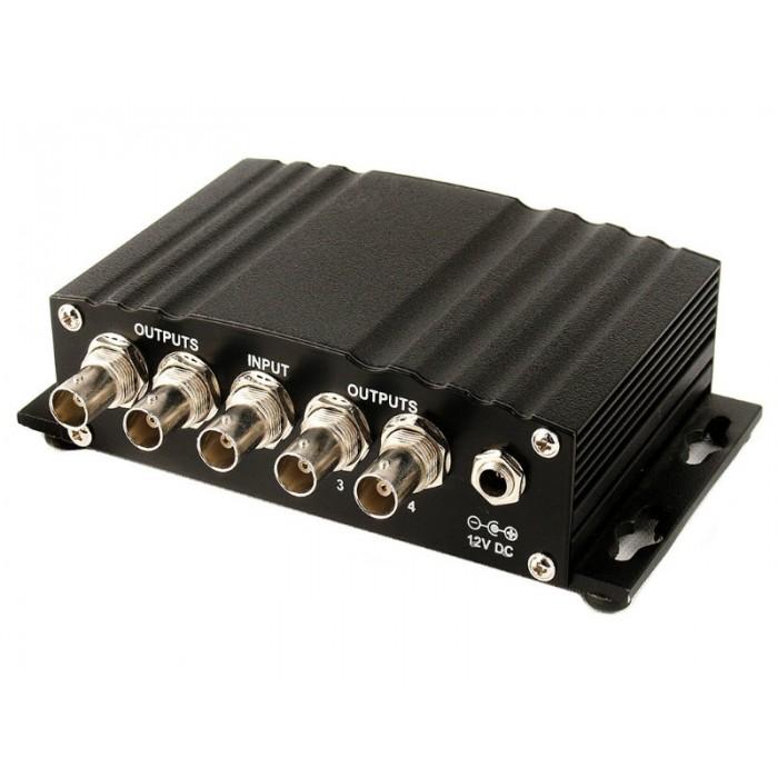 Усилитель распределитель сигналов HD/SD SDI 1 в 4 SDD-14H