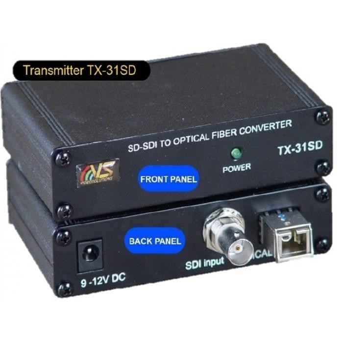 Оптический удлинитель для SD SDI сигналов