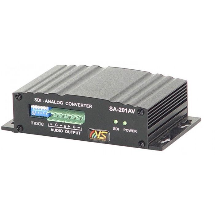 Конвертер сигнала SDI в аналоговые сигналы SА-201AV