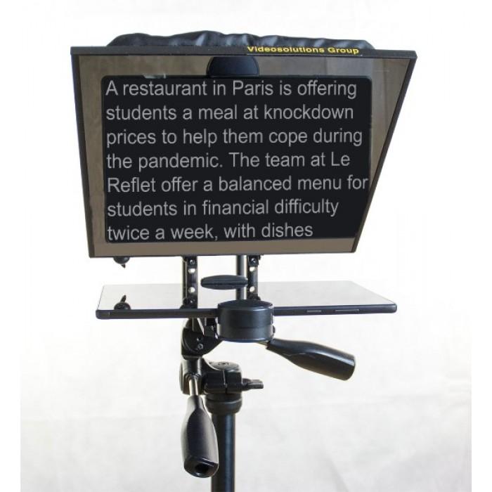 Портативный телевизионный суфлер для планшетных ПК
